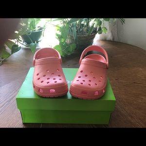 Coral Classic Clog Crocs